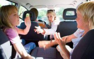 occuper enfant voiture