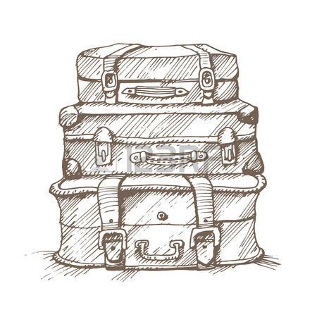 dessin sacs voyages